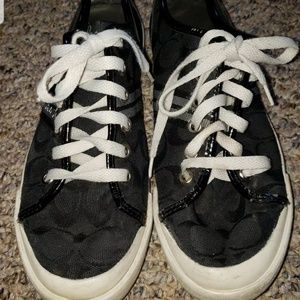Womens coach sneakers size 7.5